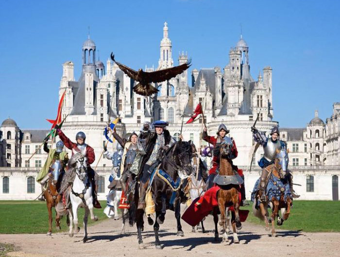 Spectacle equestre Chateau Chambord