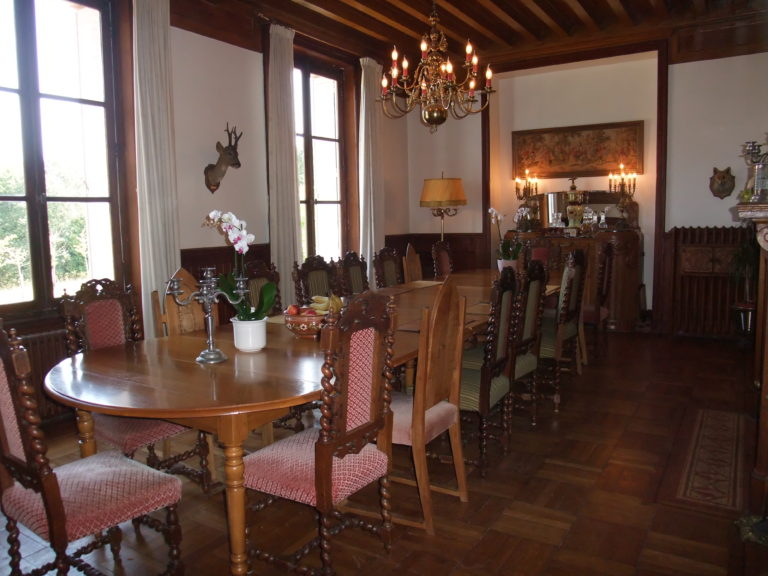 Salle a manger Chateau Epilly