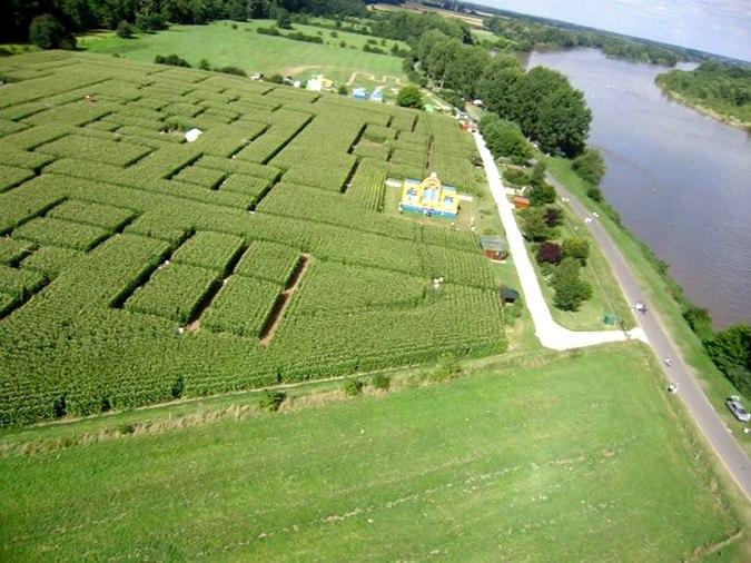Labyrinthe Beaugency