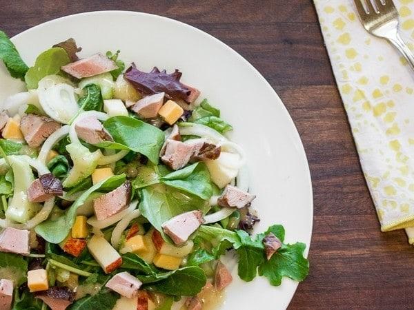 Salade-Magret-Fume